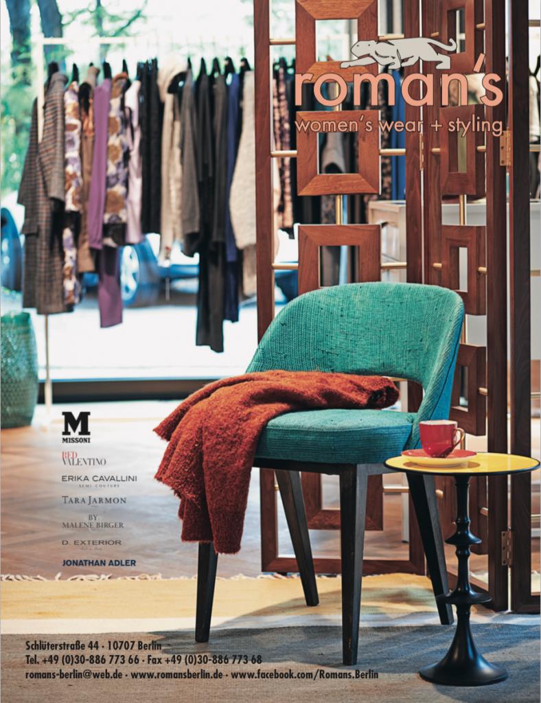 Romans Berlin featured im Wizo Magazin
