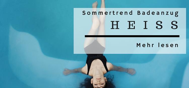 Sommertrend – Badeanzug