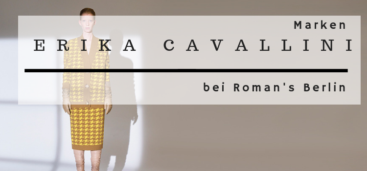 Erika Cavallini  – Fashion und Design